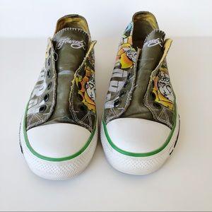 Ed Hardy Boys Shoes Size 7